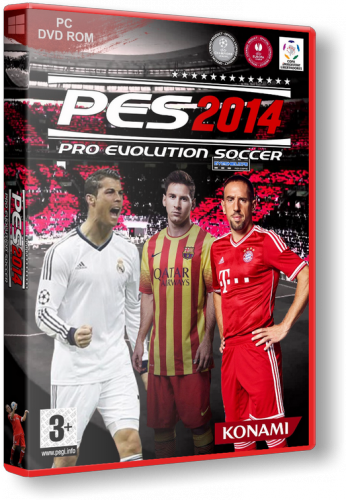 PES 2014 / Pro Evolution Soccer 2014 [v 1.13] (2013) PC | RePack от xatab